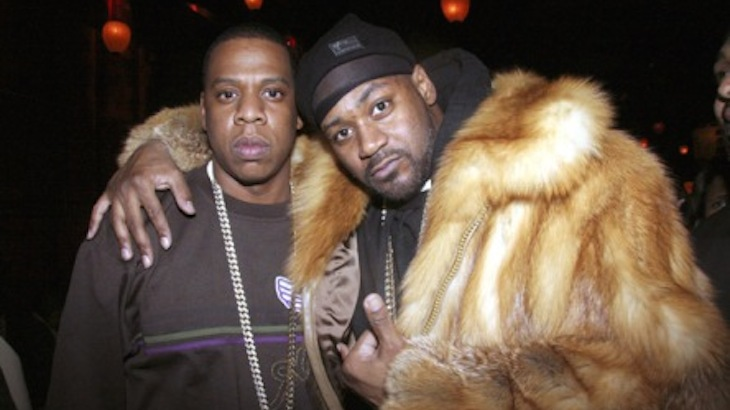 Jay Z and Ghost Face